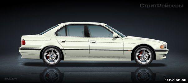 все о BMW 750 e38