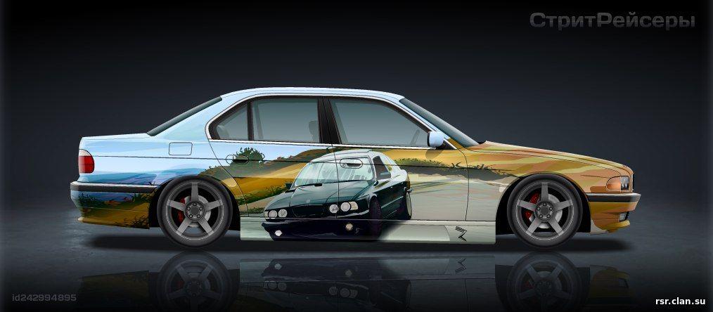 BMW e38 в наши дни