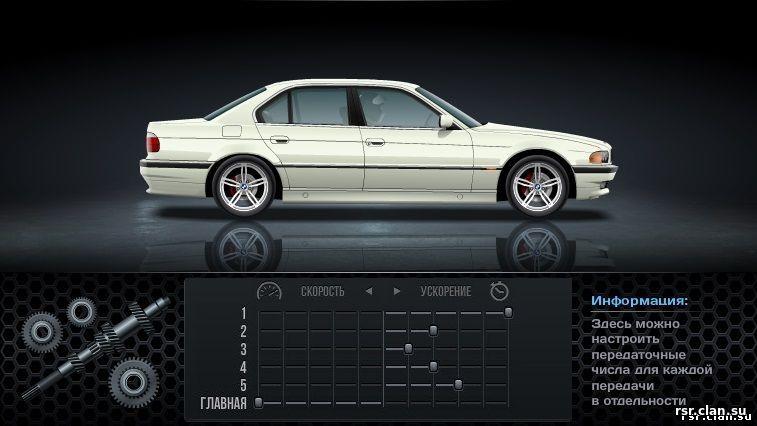 все об BMW 745 e38